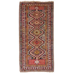 Large Antique Caucasian Shirvan Rug, 19th Century
