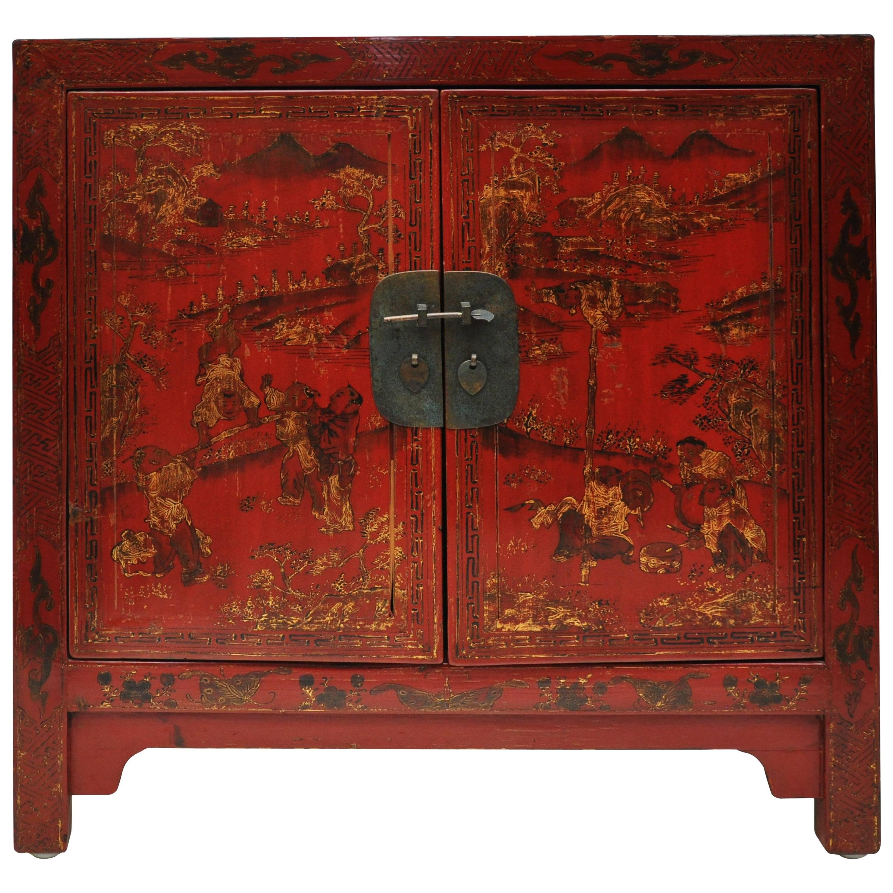 Chinese Two Door Chest 1