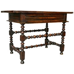 Charles II Oak Tavern Table