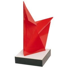 1970s Acrylic Abstract Sculpture by Lore Behrendt