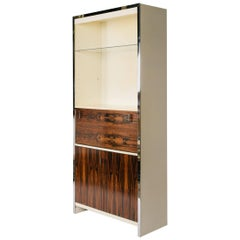 1970s John Stuart Rosewood Bookcase or Cabinet