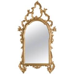 1960s Italian Giltwood Mirror