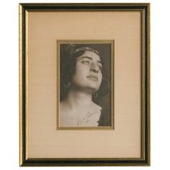 Rosa Raisa Autograph