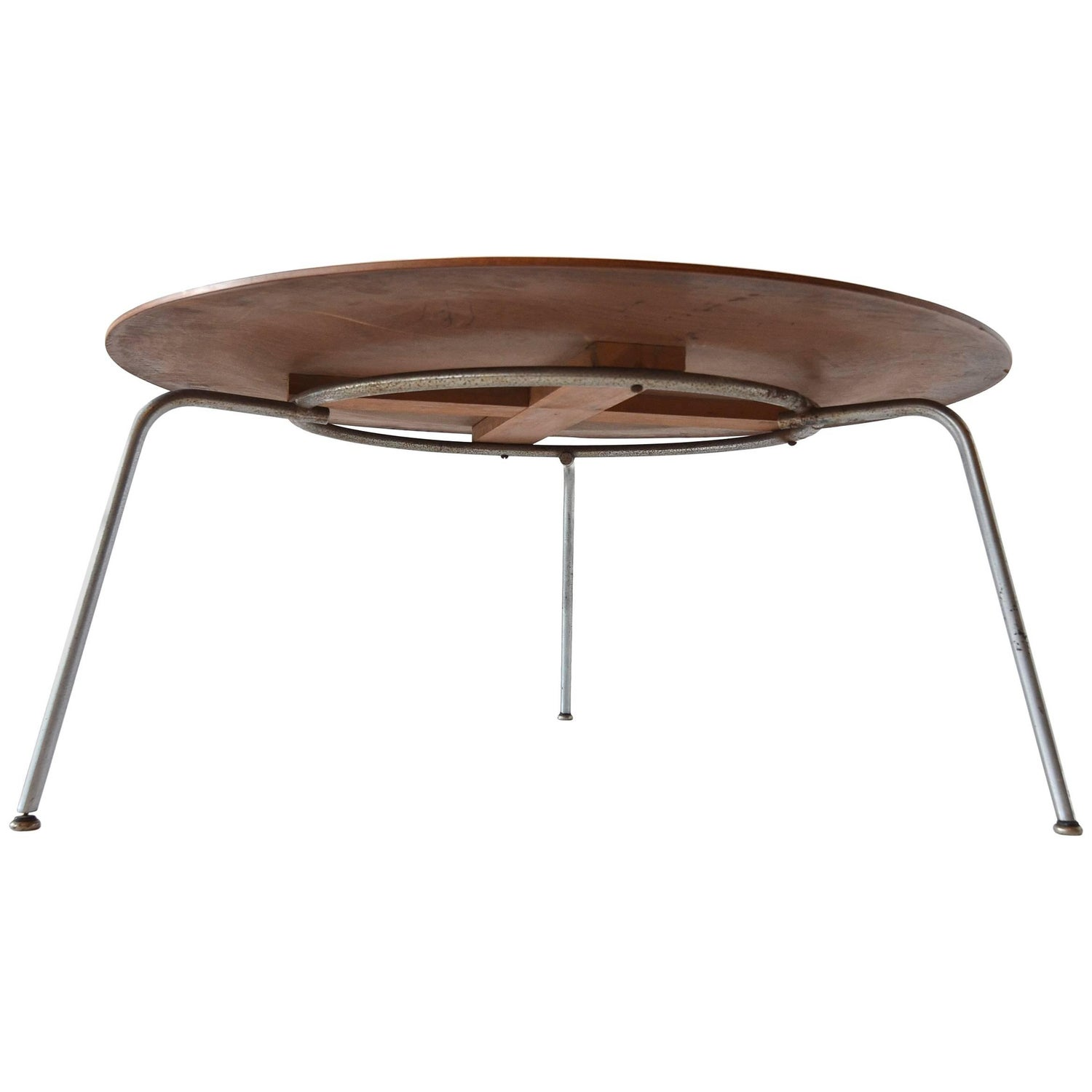 Rectangular Vintage Solid Birch Top with Hairpin Leg Coffee
