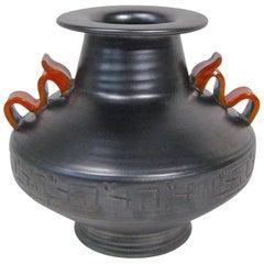 Vase Stoneware Attributed to Anna-Lisa Thomson Upsala-Ekeby, Sweden, circa 1940