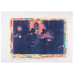 Carolee Schneemann Kinetic Artwork, Original 1979 Ristorante Da Athlio 249/250