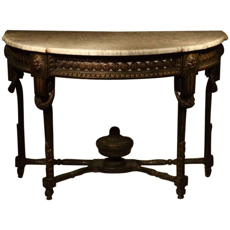 18th century french console table for sale at 1stdibs for Table th width