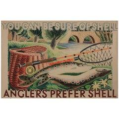 Original Poster 'Anglers Prefer Shell', 1935