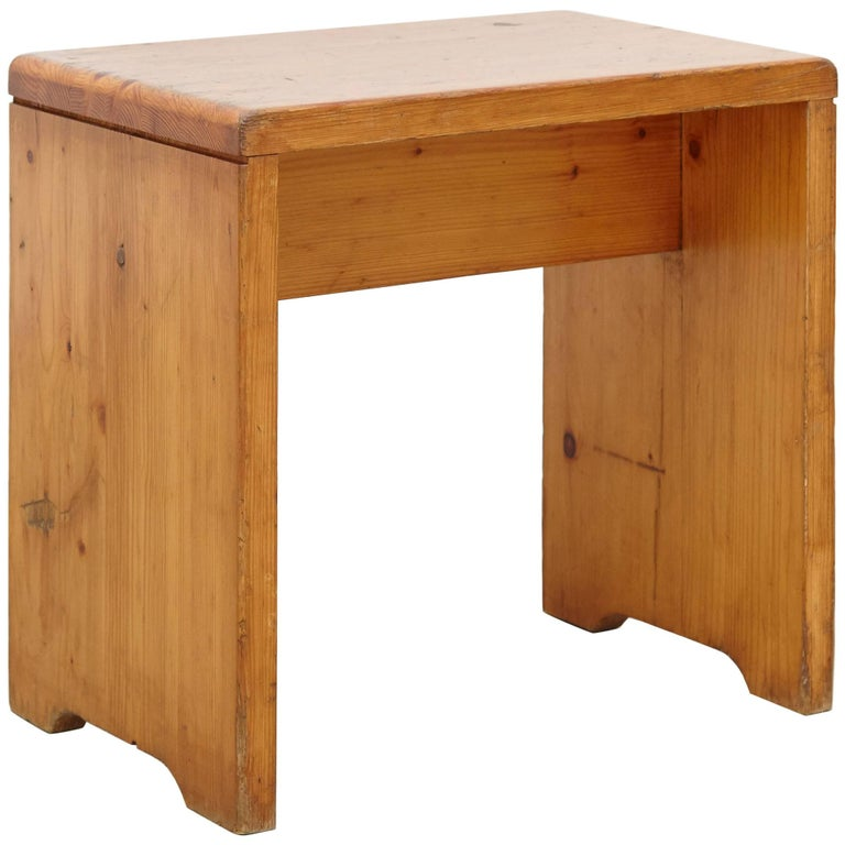 Charlotte Perriand Stool for Les Arcs 1