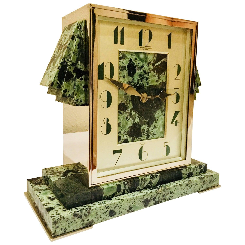 art deco clocks 292 for sale at 1stdibs