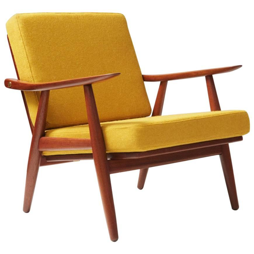 Hans J. Wegner GE-270 Teak Lounge Chair, 1956