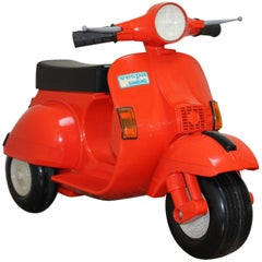 1980s Children's Vespa Scooter
