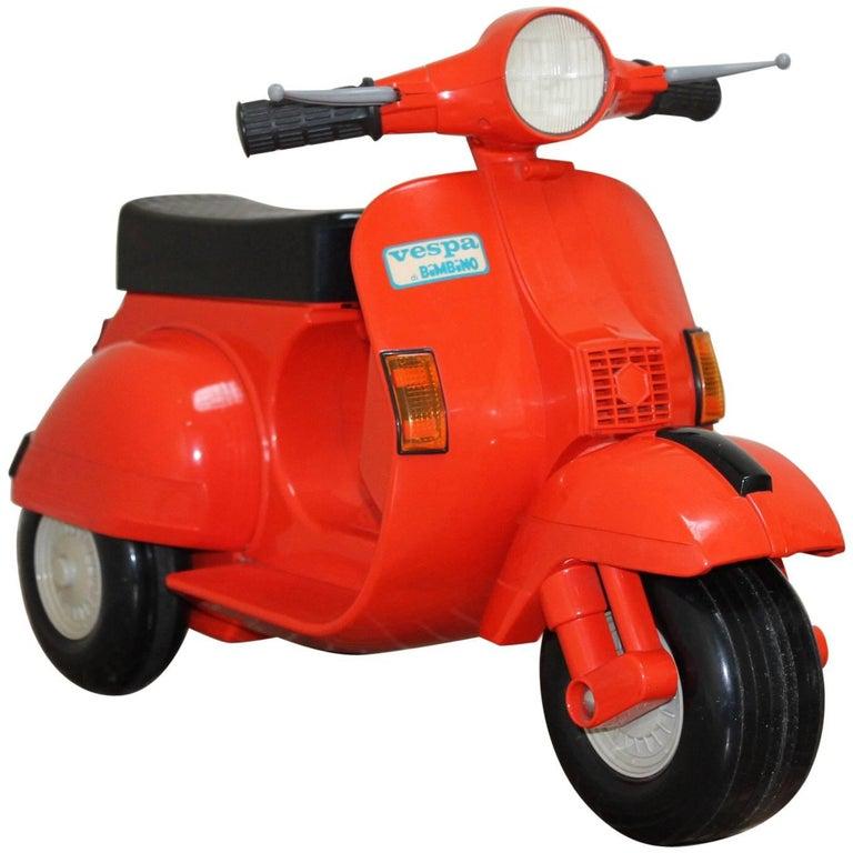 1980s Children's Vespa Scooter