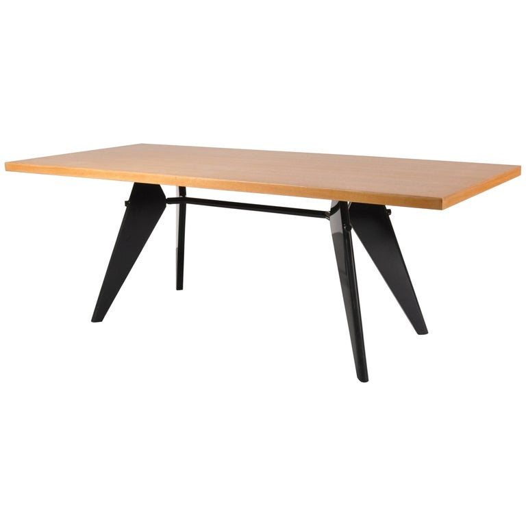 Dining Table By Jean Prouv Produced By Vitra In Germany 2002 For Sale At 1stdibs