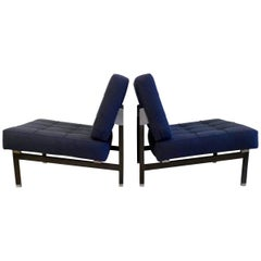Pair of Ico Parisi Lounge Chairs
