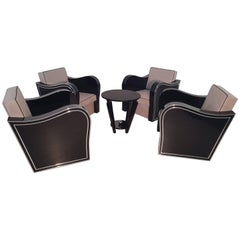 Set aus Art Deco Sessel