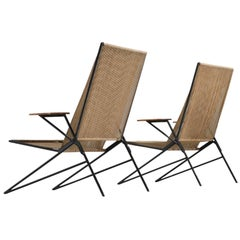 Highback Stringed Chairs with High Back and Armrests