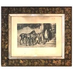 "Samuel Edmund Waller ""Twixt Love and Duty"" Original Print"