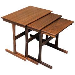 Danish Teak Nesting Tables