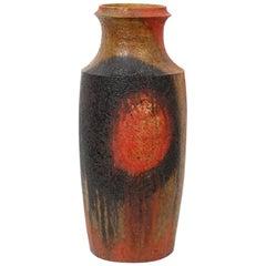 Monumental Marcello Fantoni Pottery Floor Vase