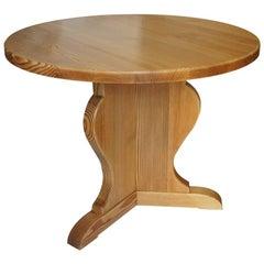 """Lovö"" Table in Pine by Axel Einar Hjorth for Nordiska Kompaniet"