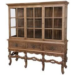 Dutch Renaissance Vitrine Bookcase