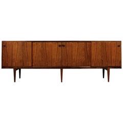 1960s Henry Rosengren Hansen Sideboard Model 48 Danish Modern Design