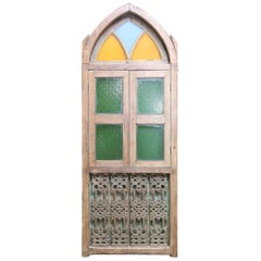 Early 19th Century Gothic Window from a Portuguese Colonial Cathedral