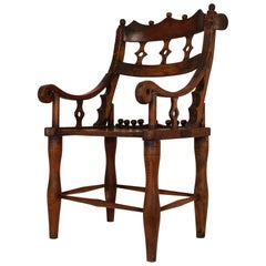 Traditional Chiefs Chair by Malinke Tribe Extra Large