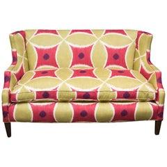 Custom Upholstered Down-Filled Loveseat