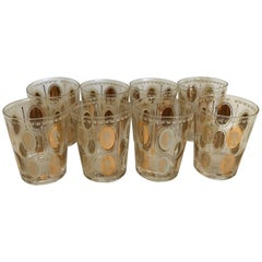 Regal Set of Eight, Fit for a Queen, European Queens on the Rocks Glass