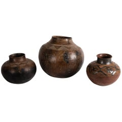 Trio of Ceramic Water Jugs