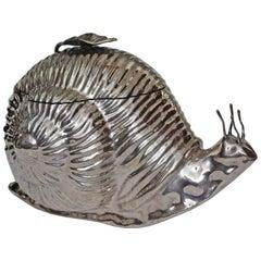 Whimsical Midcentury Snail Ice Bucket