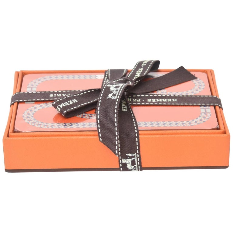 Hermes Geometric Playing Cards  For Sale