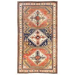 Antique Caucasian Chelaberd Kazak Rug