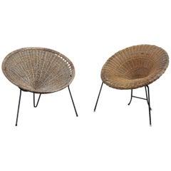 Bamboo Chair Italian Design 1950s Bonacina Design