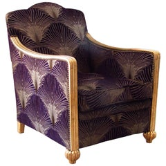 Art Deco Club Chair or Armchair, France, 1935