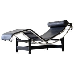 Early LC4 Le Corbusier Chaise Longue Cassina No. 8XXX