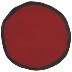 Aros Collection Round 1 Hand-Tufted Large Wool Rug by Nani Marquina in Stock