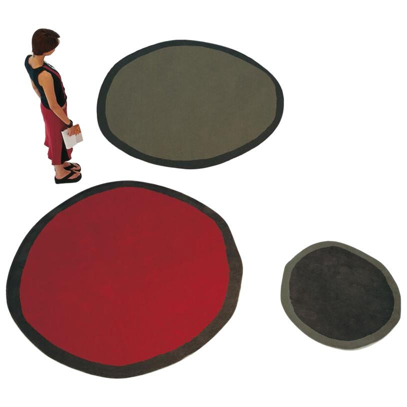 Aros Collection Round 2 Hand-Tufted Large Wool Rug by Nani Marquina in Stock