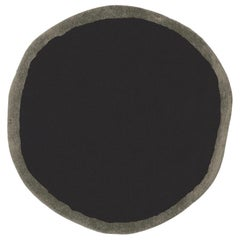 Aros Collection Round 2 Hand-Tufted Small Wool Rug by Nani Marquina in Stock
