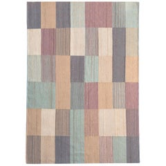 Blend 1 Hand-Loomed Afghan Wool Rug by Raw Color in Stock