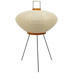 Mid-Century Modern Isamu Noguchi Akari Original Vintage 9A Table Lamp, 1950s