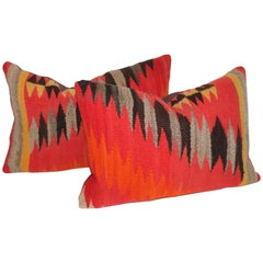 Navajo Indian Weaving Blazing Pillows