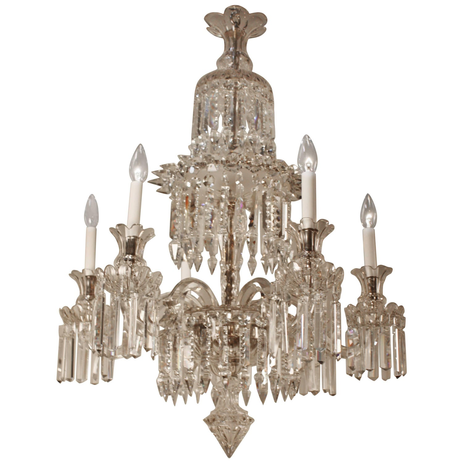 Baccarat Chandeliers and Pendants - 52 For Sale at 1stdibs