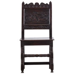 17th Century Oak Chair