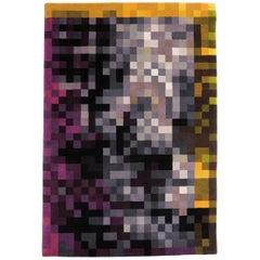 Digit 2 Hand-Knotted Wool Area Rug by Cristian Zuzunaga Medium