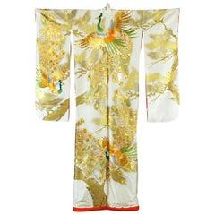 Beautiful Vintage Japanese Ceremonial Kimono