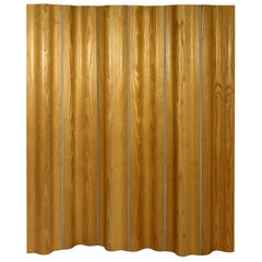 Herman Miller Eames DWR Plywood Ash Tall Folding Screen Room Divider