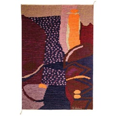 Abstract Tapestry by Ingemar Callenberg, circa 1950